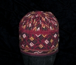 Early 20th century embroidered Tekke hat.